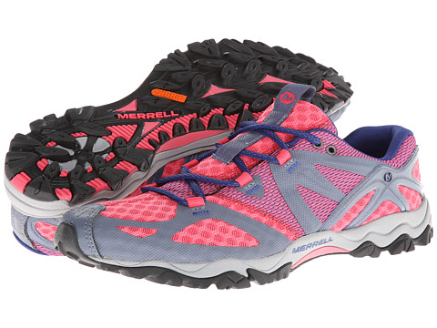 Merrell - Grassbow Air (Pink/Grey) Women's Shoes