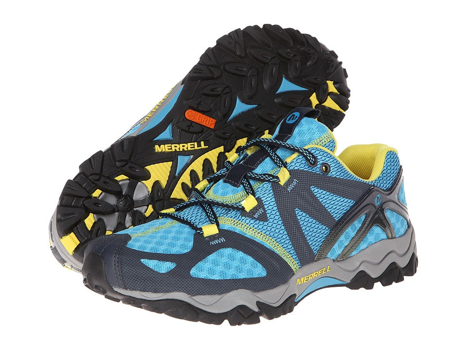 Merrell - Grassbow Air (Blue/Navy) Women's Shoes