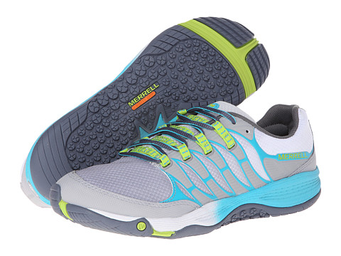 Merrell - Allout Fuse (Sleet/Lime) Women's Shoes