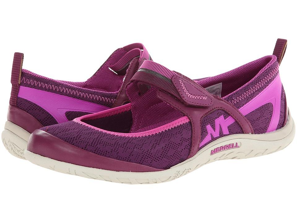 Merrell - Enlighten Eluma Breeze (Dark Purple) Women's Shoes