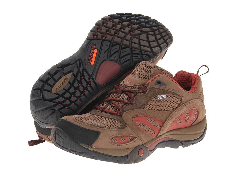 Merrell - Azura Waterproof (Dark Earth/Red) Women's Shoes