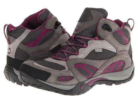 Merrell - Azura Mid Waterproof (Castle Rock/Purple) Women