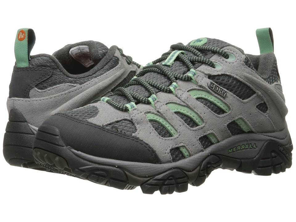 Merrell - Moab Waterproof (Drizzle/Mint) Women's Lace up casual Shoes