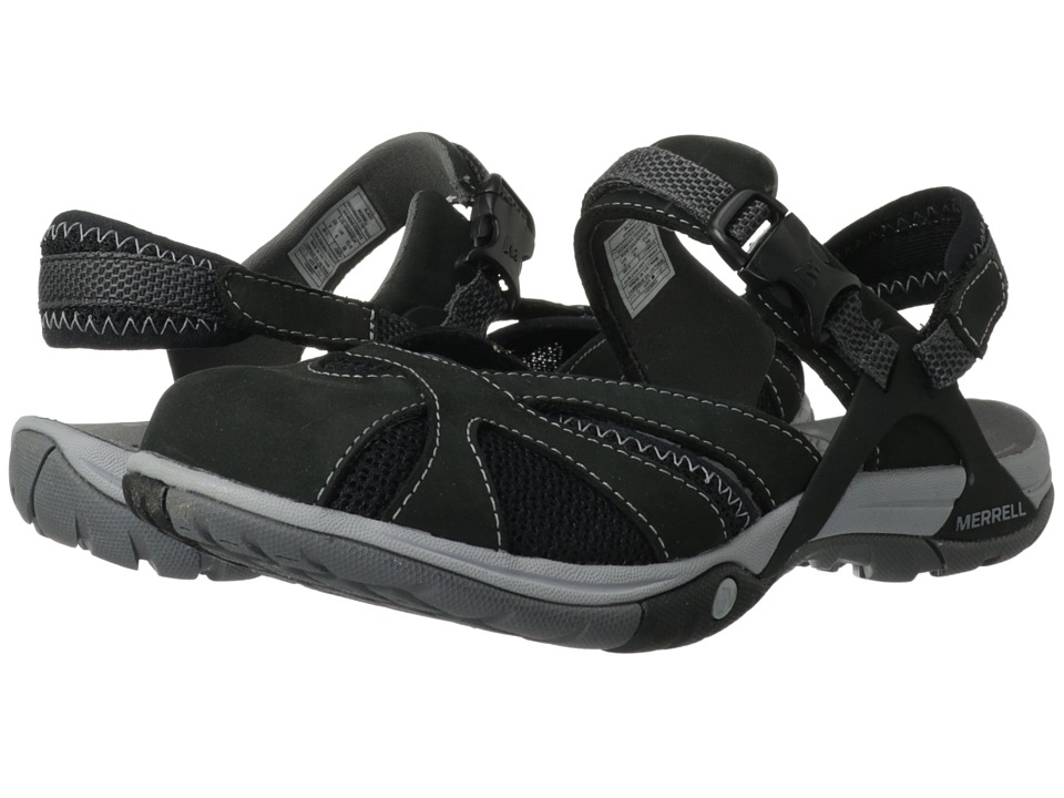 Merrell - Azura Wrap (Black) Women's Shoes