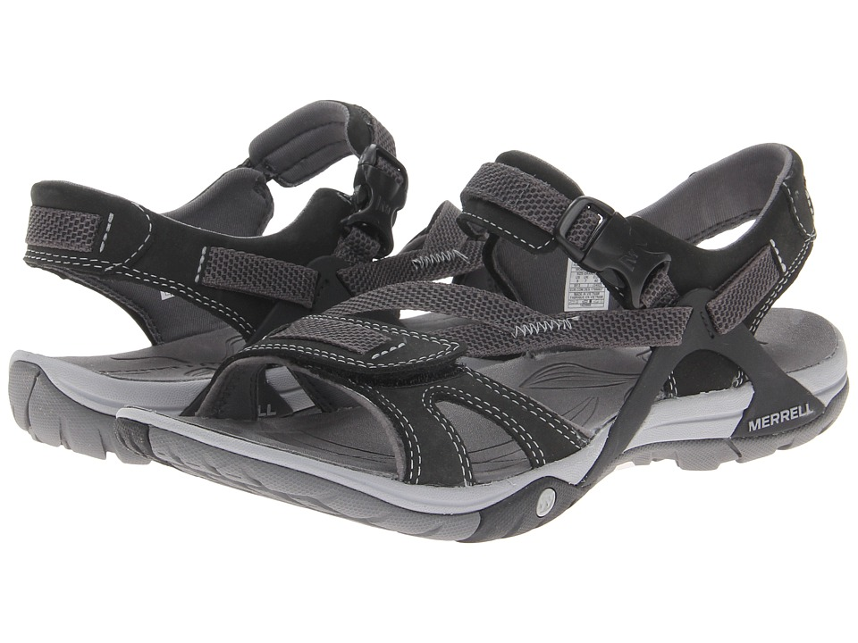 Merrell - Azura Strap (Black) Women's Shoes