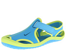 Nike Kids Sunray Protect (Little Kid) (Vivid Blue/Volt/Green Abyss)