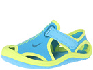 Nike Kids Sunray Protect (Infant/Toddler) (Vivid Blue/Volt/Green Abyss) Kids Shoes