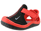 Nike Kids Sunray Protect (Infant/Toddler) (Black/Light Crimson/Cool Grey)