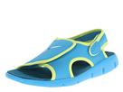 Nike Kids Sunray Adjust 4 (Little Kid/Big Kid) (Vivid Blue/Volt/Green Abyss)
