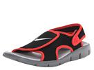 Nike Kids Sunray Adjust 4 (Little Kid/Big Kid) (Black/Light Crimson/Wolf Grey)