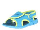 Nike Kids Sunray Adjust 4 (Infant/Toddler) (Vivid Blue/Volt/Green Abyss)