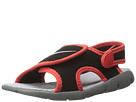 Nike Kids Sunray Adjust 4 (Infant/Toddler) (Black/Light Crimson/Wolf Grey)