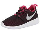 Nike Kids Roshe Run (Little Kid/Big Kid) (Black/Vivid Pink/White/Black)