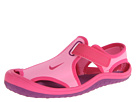 Nike Kids Sunray Protect (Little Kid) (Pink Glow/Vivid Pink/White/Bright Grape) Girls Shoes