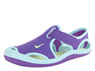 Nike Kids Sunray Protect (Little Kid) (Purple Venom/Glacier Ice/White/Volt Ice) Girls Shoes