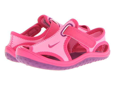 Nike Kids - Sunray Protect (Infant/Toddler) (Pink Glow/Vivid Pink/White/Bright Grape) Girls Shoes