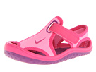 Nike Kids Sunray Protect (Infant/Toddler) (Pink Glow/Vivid Pink/White/Bright Grape)