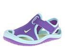 Nike Kids Sunray Protect (Infant/Toddler) (Purple Venom/Glacier Ice/White/Volt Ice)