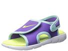 Nike Kids Sunray Adjust 4 (Infant/Toddler) (Purple Venom/Glacier Ice/White/Volt Ice)