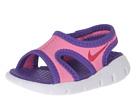 Nike Kids Sunray 9 (Infant/Toddler) (Pink Glow/Vivid Pink/White/Purple Venom)