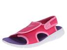 Nike Kids Sunray Adjust 4 (Little Kid/Big Kid) (Pink Glow/Vivid Pink/White/Purple Venom)