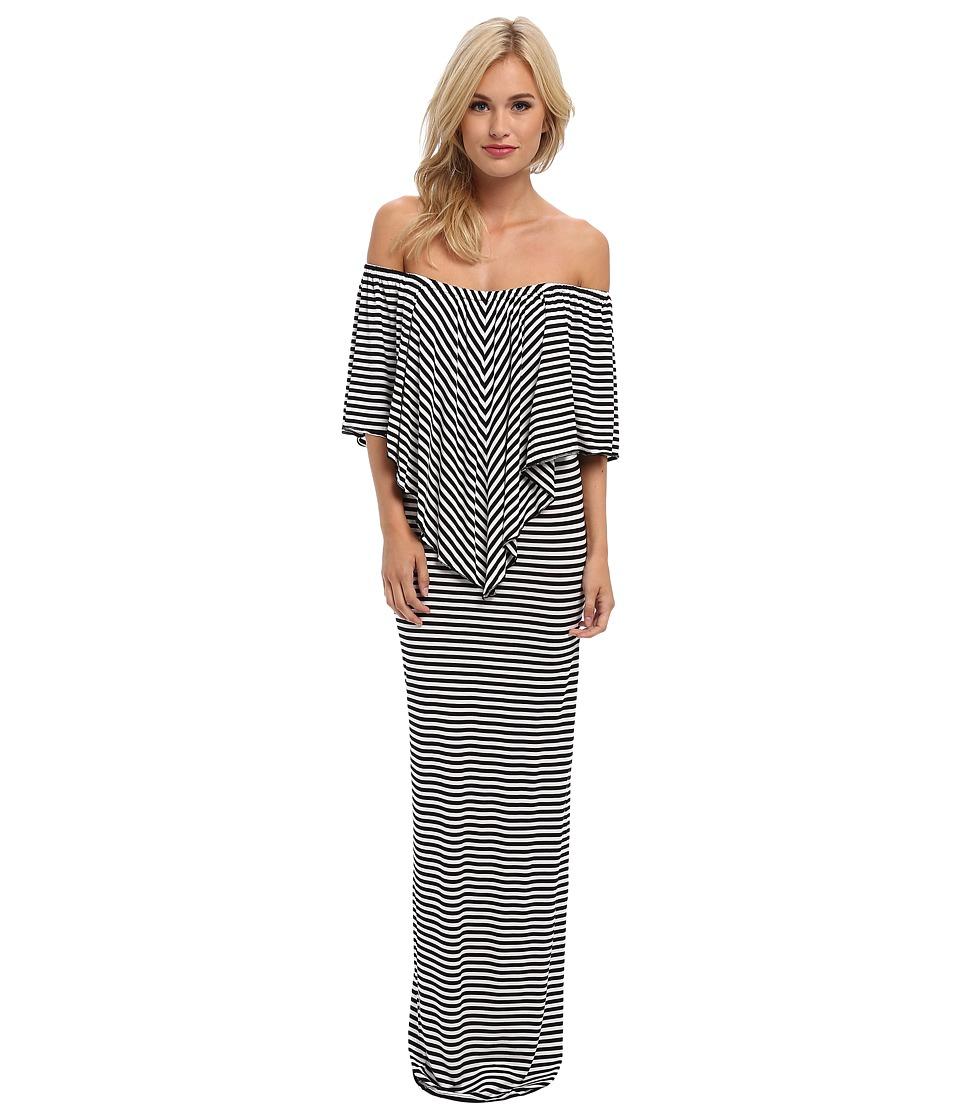 Culture Phit - Ayden Dress (Black/White) Women's Dress