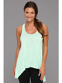SALE! $11.99 - Save $27 on Alejandra Sky Kiki Racerback Tank w Inset (Mint) Apparel - 69.26% OFF $39.00