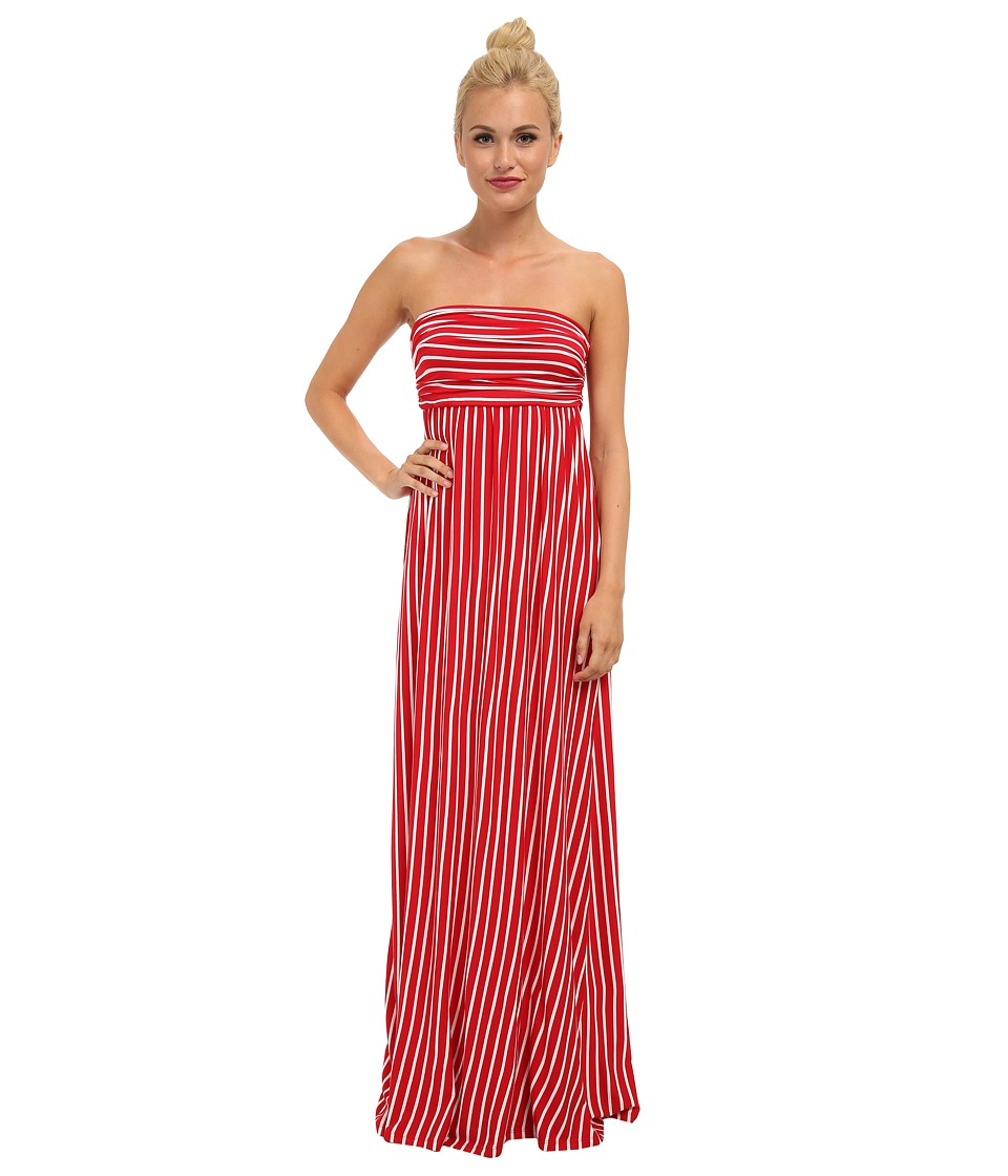 Culture Phit - Hally Dress (Red/White) Women's Dress