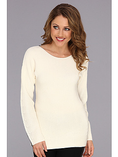 SALE! $49.99 - Save $40 on Calvin Klein Horizontal Stitch Acrylic Sweater (Birch) Apparel - 44.15% OFF $89.50
