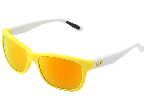 Oakley - Forehand (Sunflower Yellow w/ Fire Iridium) Sport Sunglasses