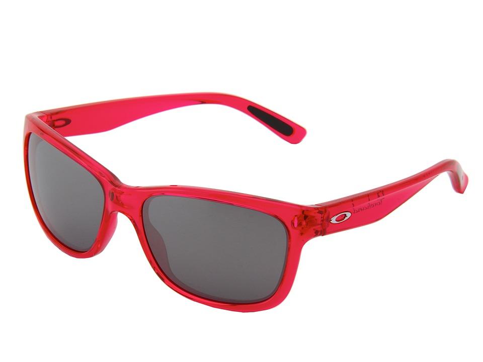 Oakley - Forehand (Neon Pink w/ Black Iridium) Sport Sunglasses