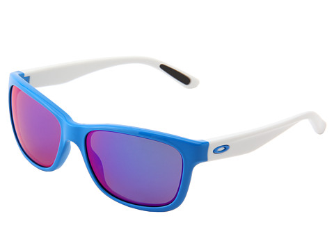 Oakley - Forehand (Brilliant Blue w/ Red Iridium) Sport Sunglasses