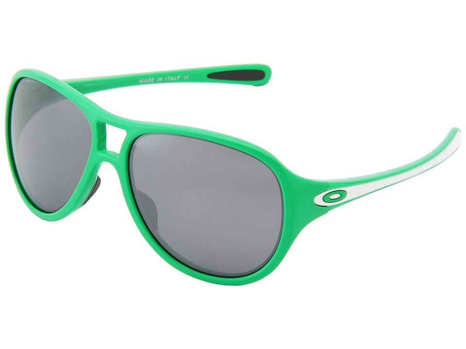 Oakley - Twentysix.2 (G-Money Green w/ Black Iridium) Sport Sunglasses