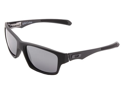 Oakley - Jupiter Carbon (Matte Black w/ Black Iridium) Plastic Frame Sport Sunglasses