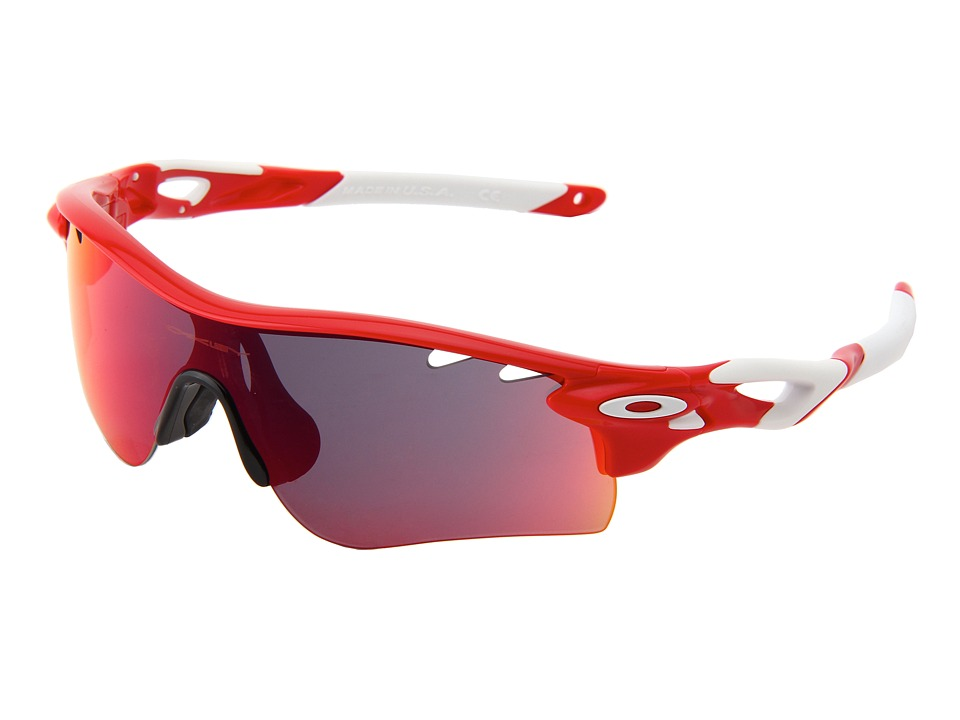 Oakley - Radarlock (Infrared w/ Red Iridium and VR28) Polarized Sport Sunglasses