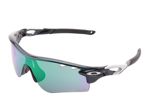 Oakley - Radarlock (Green w/ Jade Iridium) Polarized Sport Sunglasses