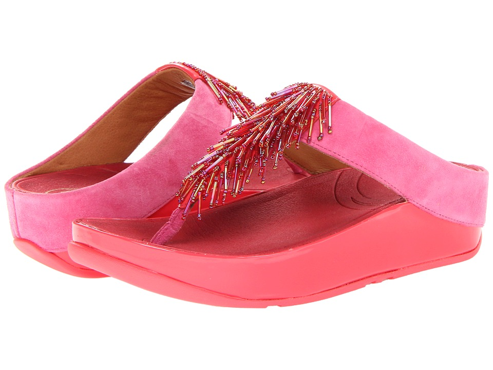 FitFlop - Cha Cha (Passion Fruit) Women's Slide Shoes