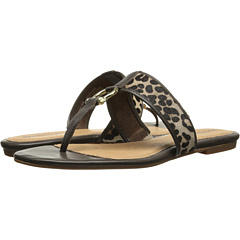 Sperry Top-Sider Carlin (Leopard Pony/Brown Patent) Women's Shoes