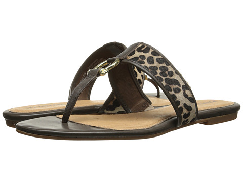 Sperry Top-Sider - Carlin (Leopard Pony/Brown Patent) Women's Shoes