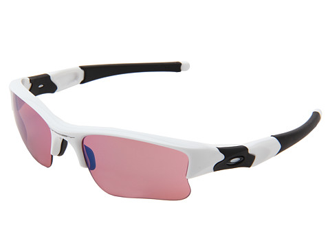 Oakley - Flak Jacket XLJ (Polished White w/ G30 Iridium) Sport Sunglasses