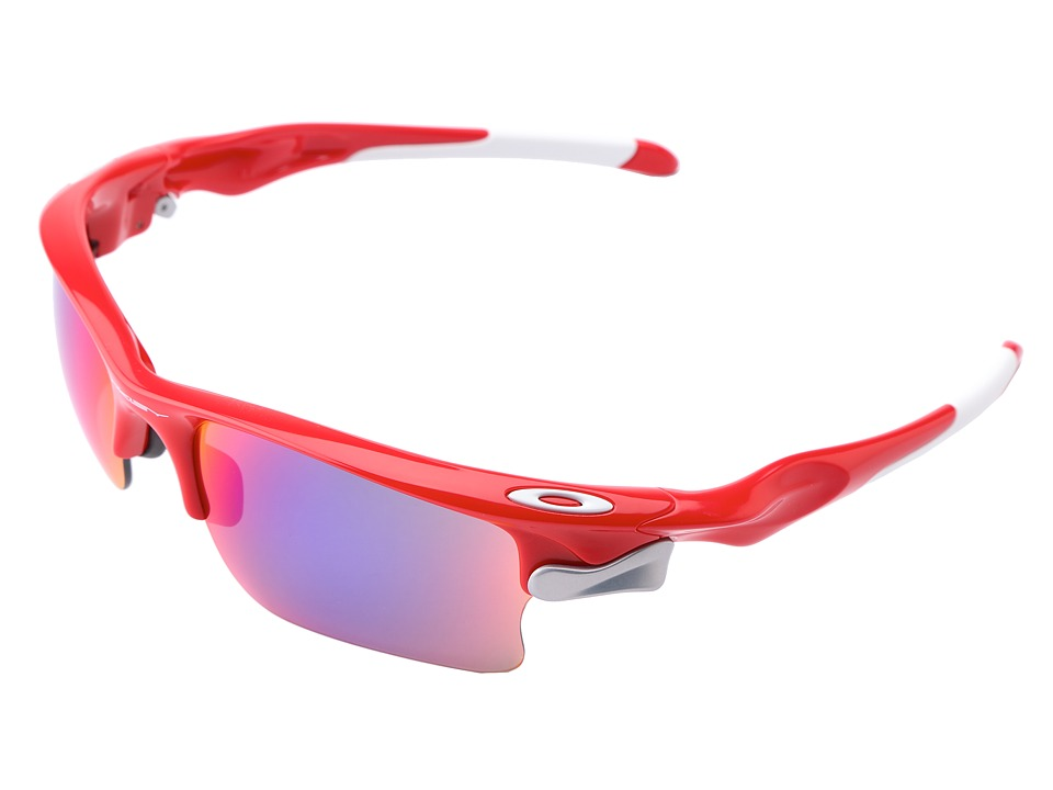 Oakley - Fast Jacket XL (Infrared w/ Red Iridium and VR28) Polarized Sport Sunglasses