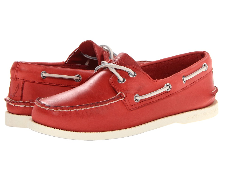 Sperry Top-Sider - A/O 2-Eye Free Time (Red) Men's 1-2 inch heel Shoes