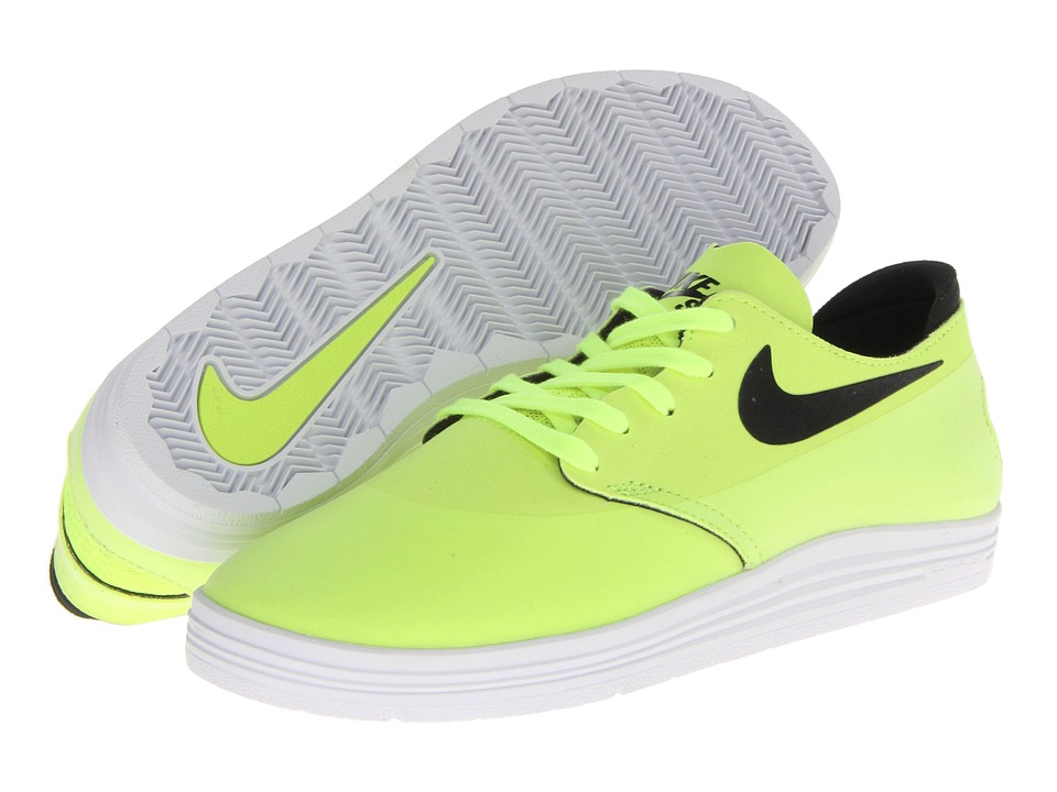 Nike SB - Lunar Oneshot (Volt/Black) Men's Shoes