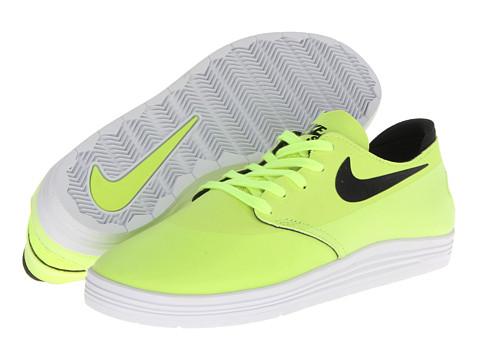 Nike SB - Lunar Oneshot (Volt/Black) Men's Shoes