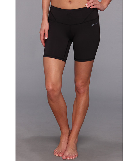 Brooks - Infiniti 7 Short Tight III (Black/Black) Women's Shorts