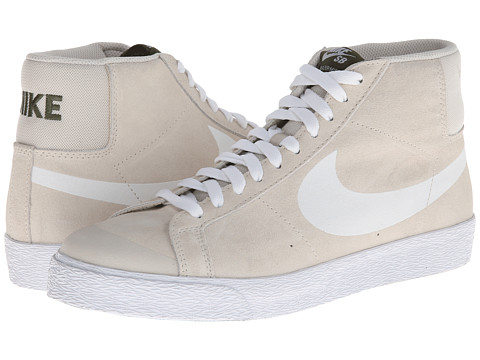 Nike SB - Blazer SB Premium SE (Light Orewood Brown/Legion Green/Black/White) Men's Shoes