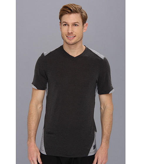 Brooks - PureProject S/S Top (Black/Anthracite) Men's Short Sleeve Pullover
