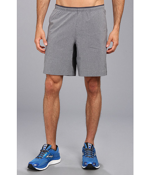 Brooks - PureProject 9 Woven Short (Heather Anthracite/Anthracite) Men