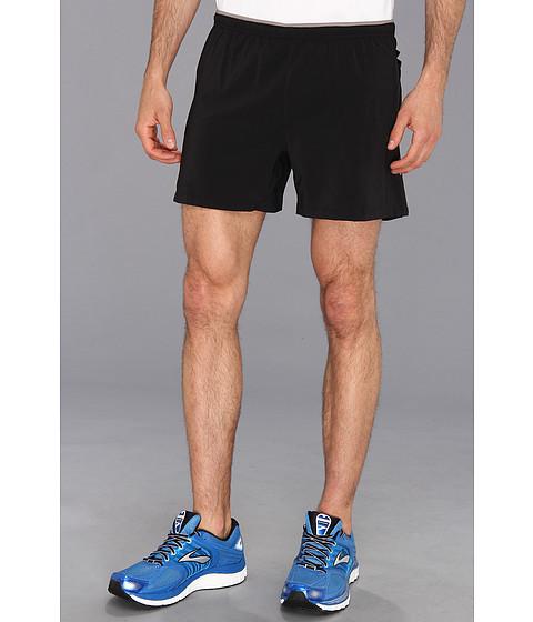 Brooks - Sherpa VI 5 Short (Black/Black) Men's Shorts