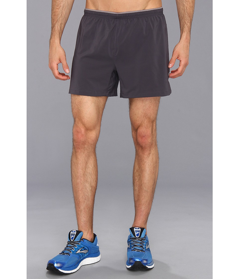 Brooks - Sherpa VI 5 Short (Anthracite/Anthracite) Men's Shorts